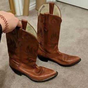 Leather Durango Cowboy Boots